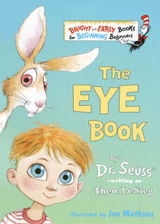 The Eye Book Dr Seuss Book Club By Early Moments