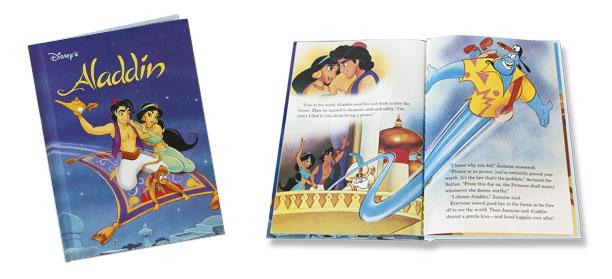 disney aladdin three wishes book