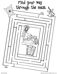 Free Printable Alice in Wonderland Activities - Earlymoments.com