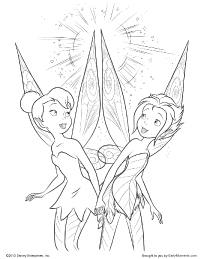 Secret Of The Wings Coloring Pages
