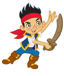 Free Printable Jake and the Never Land Pirates Fun Activities