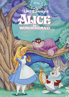 Alice in wonderland disney book club by early moments earlymoments