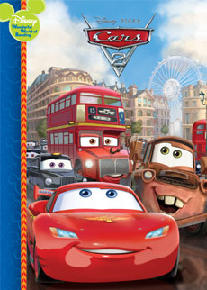cars 2 disney book club by early moments - Disney Cars Books