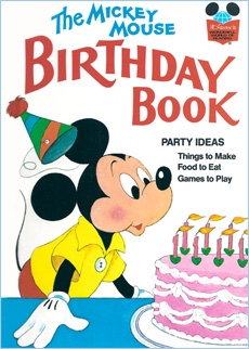 The Mickey Mouse Birthday Book - Earlymoments.com
