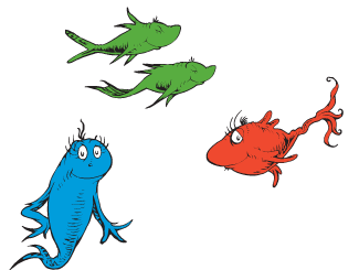 Dr Seuss One Fish Two Fish Games  Activities  Earlymomentscom