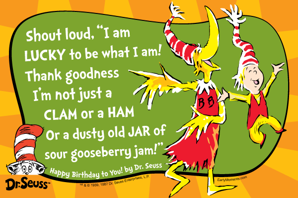 Quotes by Dr. Seuss