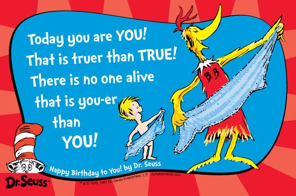 Dr. Seuss Quote #4