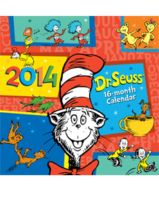 2014 Dr. Seuss Calendar  | Dr. Seuss Book Club by Early Moments