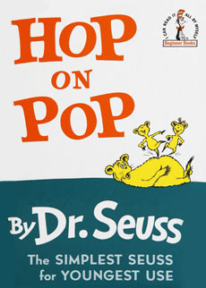 Hop on Pop | Dr. Seuss Book Club by Early Moments