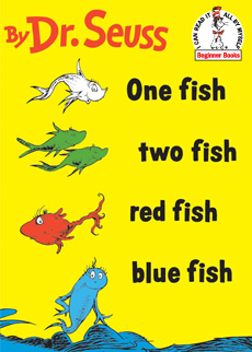 One Fish Two Fish Red Fish Blue Fish | Dr. Seuss Book Club by Early Moments