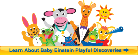 Learn About Our Baby Einstein Playful Discoveries Book Club