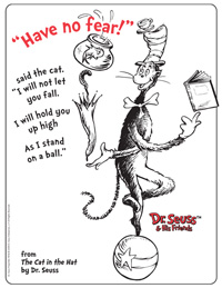 The Cat in the Hat Activities Printable Coloring Pages Art