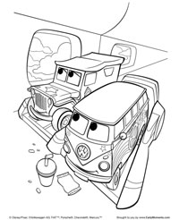 flying cars coloring page - Cars 2 Coloring Pages To Print