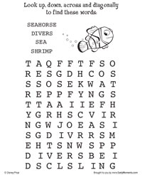Nemo's Word Search