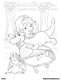 Free Printable Sofia the First Coloring Pages  Earlymomentscom