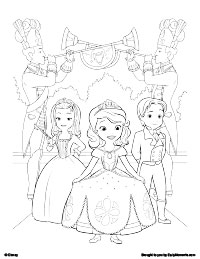 free printable sofia the first coloring pages earlymoments com