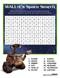 WALL-E's Space Search
