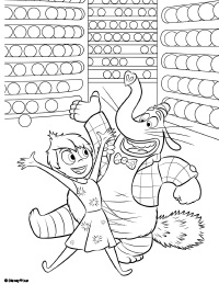 Bing bong inside out coloring pages sketch coloring page for Bong coloring pages