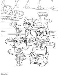 Free Printable Inside Out Coloring Pages Earlymomentscom