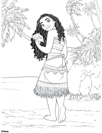 moana coloring page 3