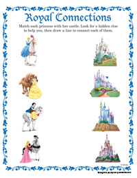 royal connections - Disney Princess Games And Activities
