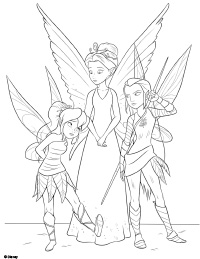 Free Printable Tinker Bell and the Legend of the NeverBeast