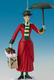 Mary Poppins Disney Character Ornament