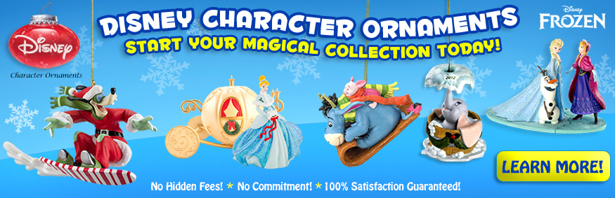 Disney Character Ornaments