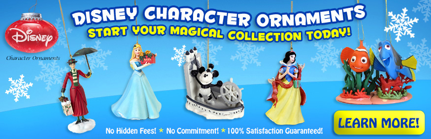 Disney Collectible Ornament Club