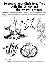 dr seuss activity page