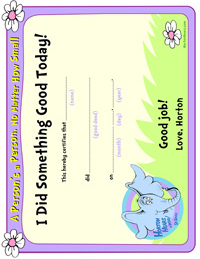 Dr. Seuss Activity Page