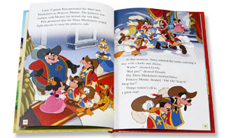 The Three Musketeers | Disney Book Club by Early Moments ... Young Children Working Together